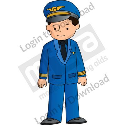 Young pilot