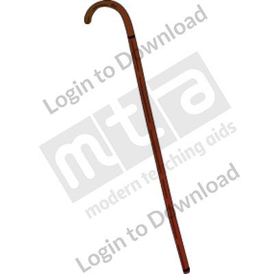 Victorian cane