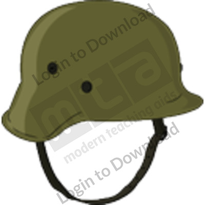 German military helmet