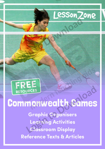 Commonwealth Games Collection