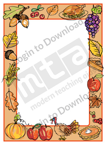 Thanksgiving Page Border