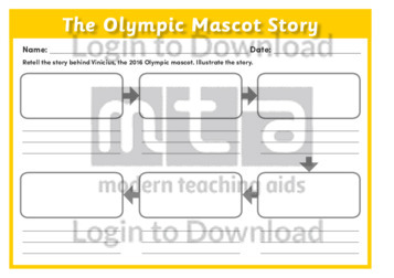 The Olympic Mascot Story