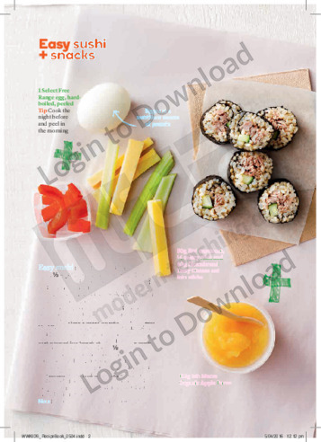 FFK Lunch Boxes Easy Sushi & Snacks
