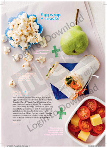 FFK Lunch Boxes Egg Wrap & Snacks