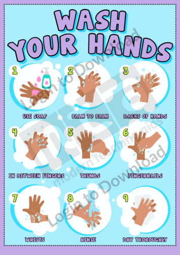 Hygiene Poster: Wash Your Hands
