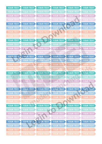 Teacher Planner Tab Stickers (Editable)