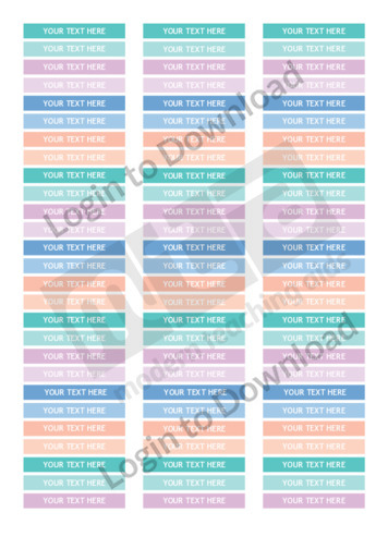 Teacher Planner Label Stickers (Editable)