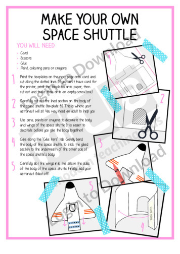 Make Your Own Space Shuttle