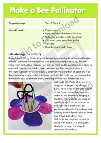 Make a Bee Pollinator